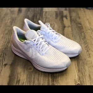 White Nike Air Zoom Pegasus 35 - US Size 9 Men